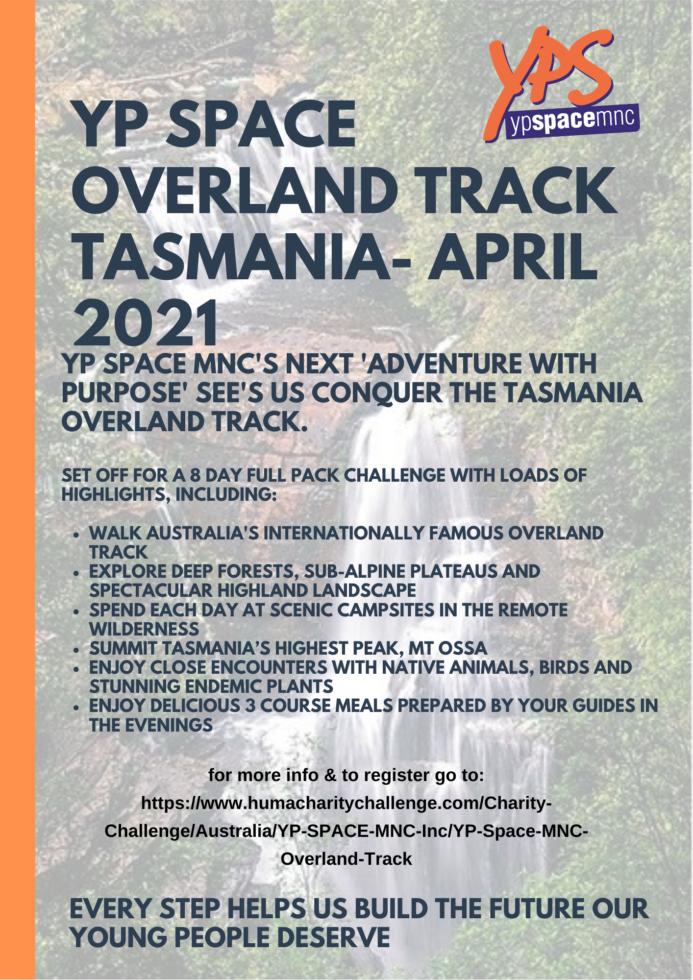 YPS Overland Track Challenge